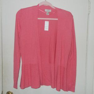 Loft Open Front Sweater Cardigan Size Small